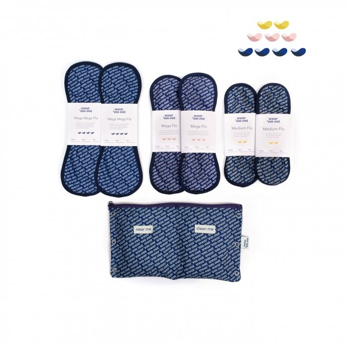 Wear 'em Our reusable Period Sanitary Pads