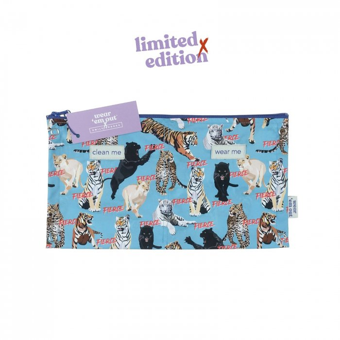 The Fierce Collection Wear 'em Out reusable Period Sanitary Pads