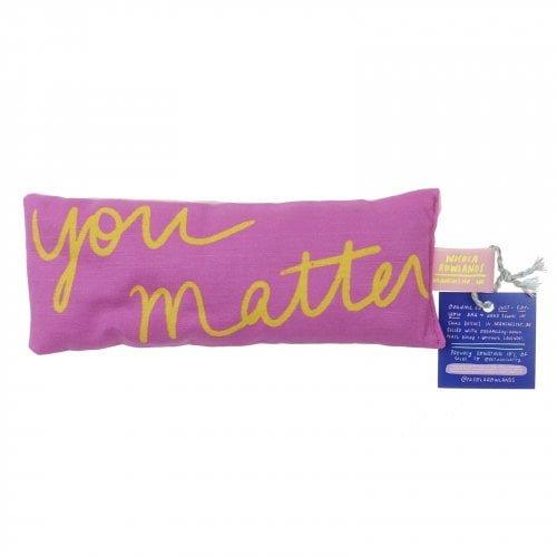You Matter Lavender Bag