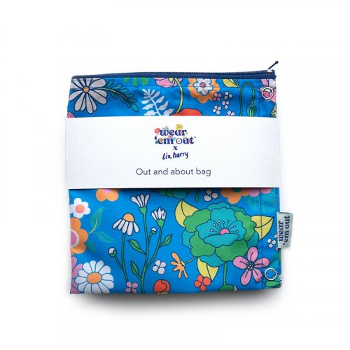 The We Bloom Limited Edition Collection Wear 'em Out reusable Period Sanitary Pads